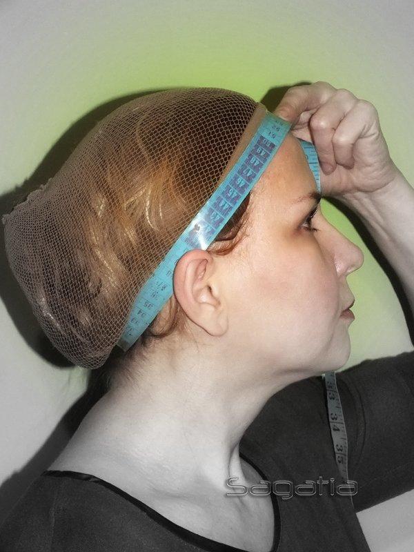 Jak zmierzyć obwód głowy do peruki
