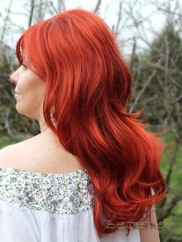 Czy włosy w perukach można farbować?
