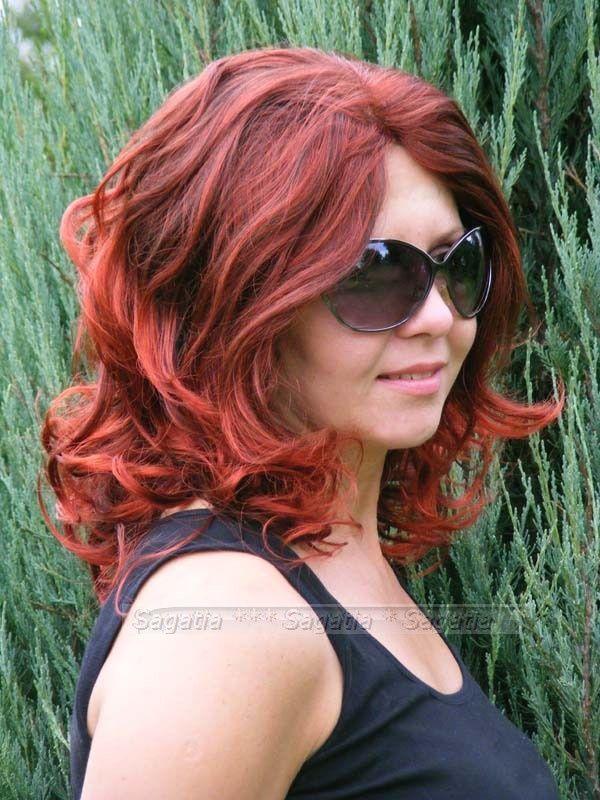 Lookbook: włosy w kolorach jesieni